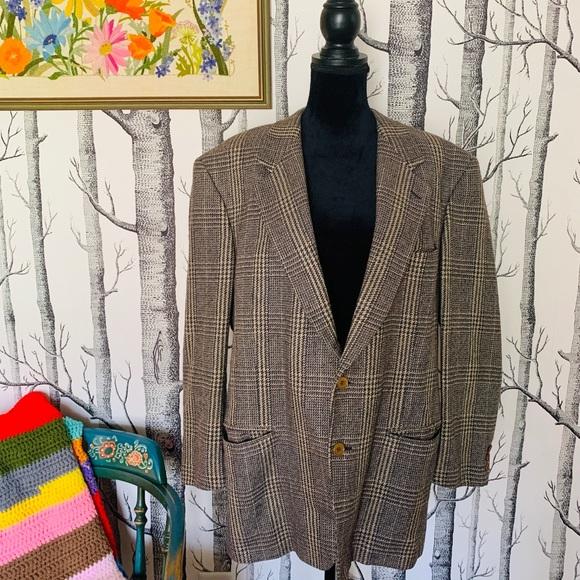 Missoni Other - Vintage Missoni Plaid Wool Men Business Blazer